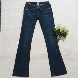 True Religion Becky Reclaimed Bootcut Jeans Sz 26